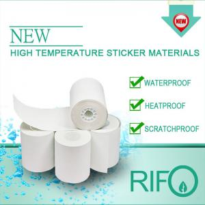 High Temperature Stickers, Vinyl Adhesive Label for Tire Use