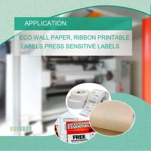 Electronic Labels Surface Coating Synthetic Materials for Industrial Application