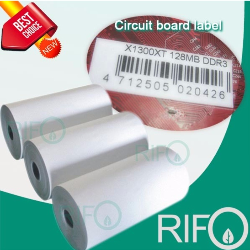 PI label Polyimide Label Film for PCB ID, Steel Parts ID Adhesive Label