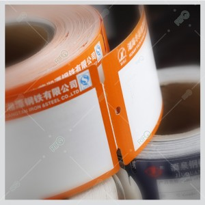 Tear Resistance Heatproof Metal Hangtags for Steel Bar,Steel Bar Rebar Hang Tags Raw Materials