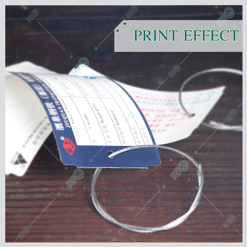Offset print UV print High Temperature Printing Labels by PET synthetic paper