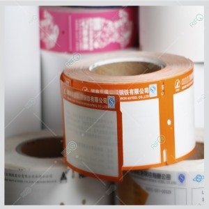 Rifo Heat Protect Ribbon Printable offset printable Hang Tags and Labels