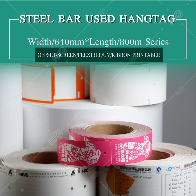 Stainless Steel bar label customization, Tear resistant hang labels customization